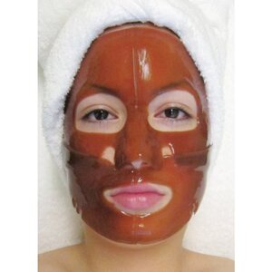 Hydrophylic Gel Collagen Mask - Chocolate Rejuvenating Collagen Mask Pack of 15 - Each is Single Use (MC4564 X 15)