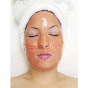 Hydrophylic Gel Collagen Mask - Red Wine Collagen Mask Pack of 15 - Each is Single Use (MC4556 X 15)