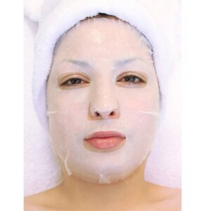 Plant & Vegetable Collagen Mask - Anti-Aging Ginger Mask Pack of 15 - Each Pre-Moistened 100% Natural and Paraben Free Mask is Single Use (MF50021 X 15)