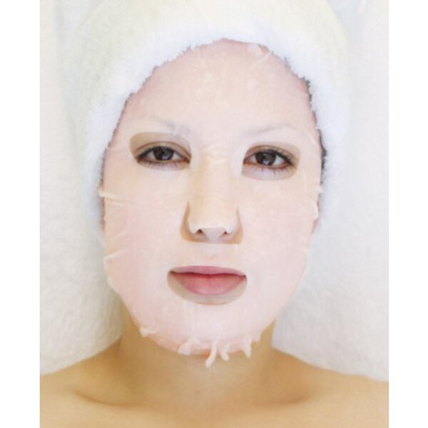 Plant & Vegetable Collagen Mask - Green Tea Collagen Mask Pack of 20 - Each Pre-Moistened 100% Natural and Paraben Free Mask is Single Use (MS4550 X 20)