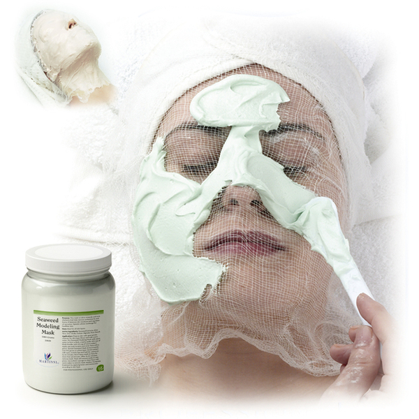 Seaweed Modeling Mask 2.64 Lbs. (1.2 Kilograms - 24 X Single Use 50 Gram Bags) (31020S X 24)