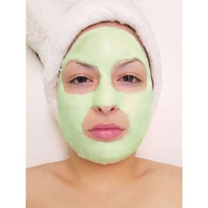 Green Tea Revitalizing Soft Mask 25 Two Treatment Packs - 2.1 oz. (60 Grams) Each = 3.3 Lbs. (1.5 Kilos) Total (ER-5003S X 25)