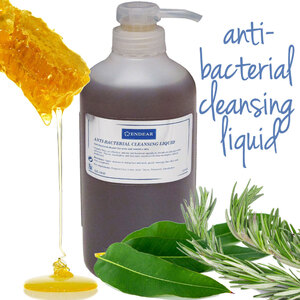 Anti-Bacterial Cleansing Liquid 3 Bottles X 20.2 fl. oz. (600 mL.) = 60.6 oz. Total (1.8 Liters) (ER-389P X 3)