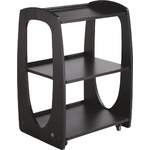 ZEME Skin Care Beauty Salon Trolley Cart - Black (CX1215)