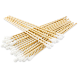 "6"" One Tip Cotton Applicator 100 per Pack X 96 Packs = Case of 9600 Cotton Tipped Applicators (0890111 X 96)"