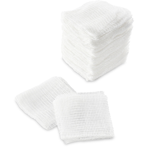 "2""x 2"" 12-Ply Gauze 200 per Sleeve X 24 Sleeves = Case of 4800 Gauze Squares (0191081 X 24)"