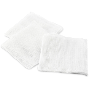"4""x 4"" 12-Ply Gauze 200 per Sleeve X 20 Sleeves = Case of 4000 Gauze Squares (0191091 X 20)"