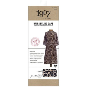 "1907 Leopard Hairstyling Cape 44"" x 58"" by Fromm (NTA005)"