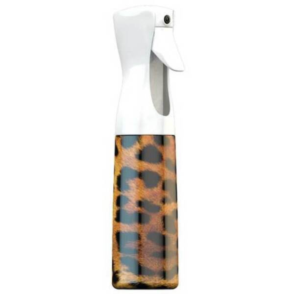 Continuous Spray Stylist Sprayer Bottle - Leopard 10.1 oz. - 300 mL. (TT-03-407)