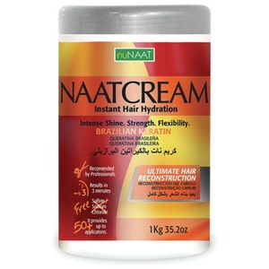 NAAT Cream Brazilian Keratin 35.27 oz. - 1 Kilogram (106P000006)