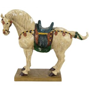 "16"" Tang Dynasty Horse Statue (STA-HORSE2)"