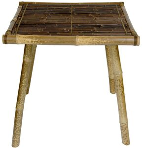 Japanese Bamboo End Table (WD99086B)