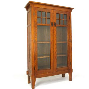 "Bookcase Display Cabinet 42""W x 16""D x 68""H (WB-9017)"