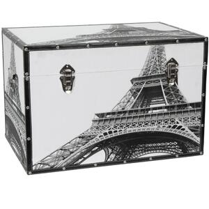 "Eiffel Tower Trunk 24""W x 16""D x 16""H (CAN-TRNK-EIF)"