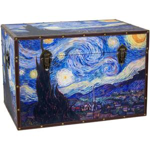 "Van Gogh's Starry Night Trunk 24""W x 16""D x 16""H (CAN-TRNK-VANG)"