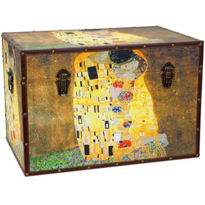 "Works of Klimt Trunk 24""W x 16""D x 16""H (CAN-TRNK-KLIMT1)"