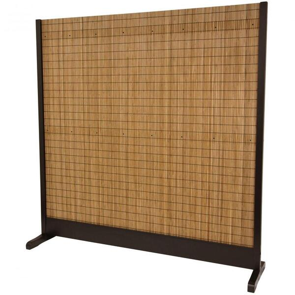 "Take Room Divider - Walnut 75""W x 76""H (SSTAKE)"
