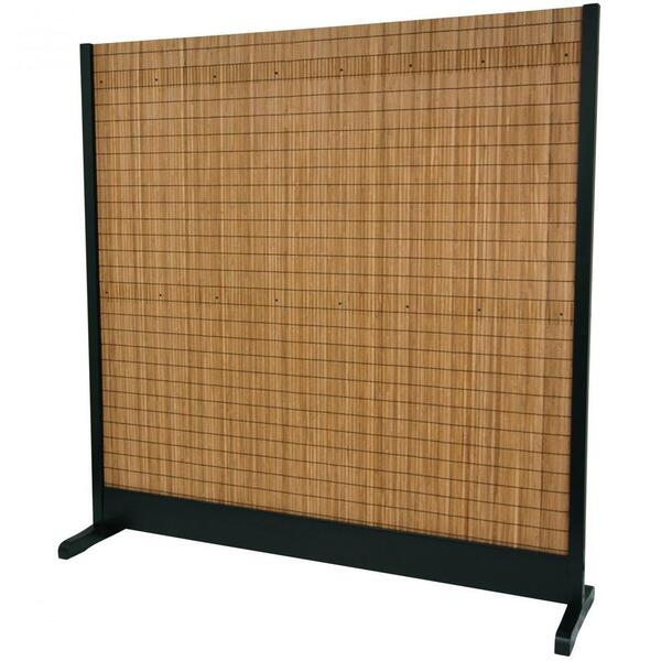 "Take Room Divider - Black 75""W x 76""H (SSTAKE-BLK)"