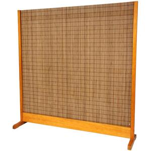 "Take Room Divider - Honey 75""W x 76""H (SSTAKE-HON)"