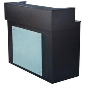 Mona Reception Counter - Black (SF1105)