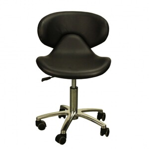 "The Orsola Technician Stool - Black Seat Height 16.5""-22"" ( FC1001-618T )"