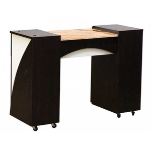 Edita A - Single Manicure Table - Half Marble Top (FT504A)