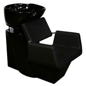 Beatrice Shampoo Chair Station - BlackBlackBlack (SF3971)