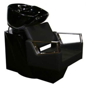 Fiore Shampoo Chair Station - BlackBlackBlack (SF3895-BBB)