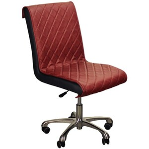 "The Bella Customer Chair - Burgundy 17""- 21.5"" Seat Height (FC3218-632)"