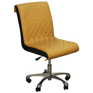 "The Bella Customer Chair - Caramel 17""- 21.5"" Seat Height (FC3218-046)"
