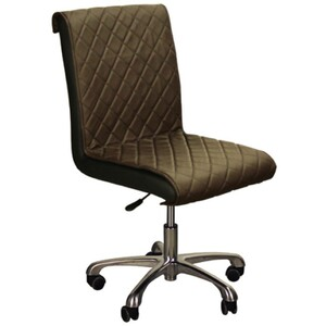 "The Bella Customer Chair - Mocha 17""- 21.5"" Seat Height (FC3218-239)"