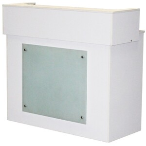 Mona Reception Counter - White (SF1105W)