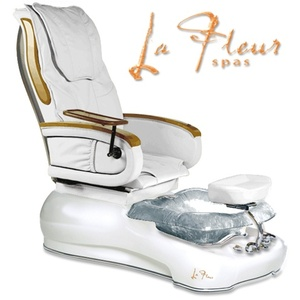 La Fleur Pedicure Spa 9600 with Shiatsu Massage by Gulfstream
