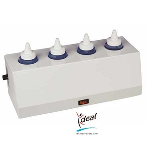 "4 Bottle Ideal Warmer 2"" Diameter Bottles by Ideal Products (GW408)"
