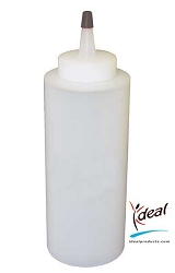 8 oz. Empty Dispenser Bottles by Ideal Products - 12 Pack (8OZ-12)