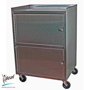 "Dual Cabinet Cart 21""x16""x30"" by Ideal Products (KC321)"