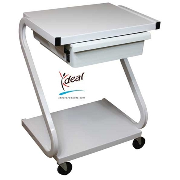 "2 Shelf Equipment Cart with Drawer 22""x16""x30"" by Ideal Products (Z99)"