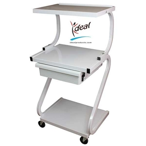 "3 Shelf Equipment Cart with Drawer 22""x16""x40"" by Ideal Products (Z99T)"