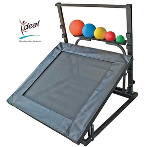 "Heavy Duty Adjustable Plyometric Rebounder Package 41""x46""x45"" by Ideal Products (BAY500)"