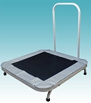 "Heavy-Duty Rebounder with Assist Handle 41""x41""x44"" by Ideal Products (JTR67H)"