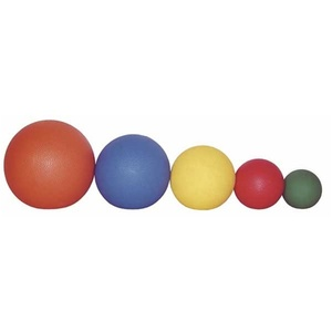 Set of 5 Medicine Balls 1 2 5 7 & 11 lbs. by Ideal Products (MBS5)