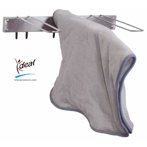 "3 Hook Hot Pack Cover Drying Rack 3""x12""x17"" by Ideal Products (HCR3)"