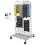 "Economy Cuff Weight Rack 22""x22""x42"" by Ideal Products (MWR35)"
