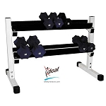 "Heavy Duty Dumbbell Rack 36""x12""x24"" by Ideal Products (HWR60)"