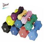 Standard Dumbbell 15 lbs. by Ideal Products (DB15)