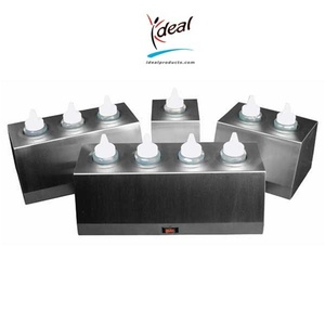 "3 Bottle Economy Bottle Warmers 6""x11""x5"" by Ideal Products (EBW-3)"