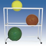 "Therapy Ball Storage Cart 62""x22""x62"" by Ideal Products (MSR60)"