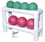 "Soft Weight Storage Rack 18""x6""x12"" by Ideal Products (SW2)"