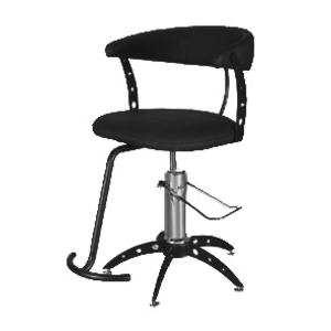 Euro Styling Chair - Black Frame by Formatron (STY2000EU-B)