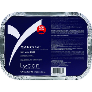 Lycon Manifico Hot Wax XXX - Stripless Hard Wax 1 Kilogram - 35.3 oz. (WHLL1800)
